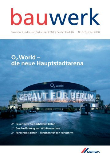 Nr. 9 / Oktober 2008 - Cemex Deutschland AG