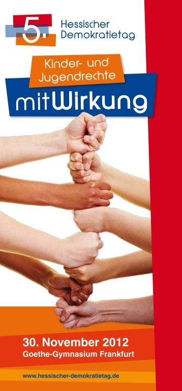 mitWirkung - Hessischer-Demokratietag