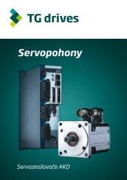Katalogový list servozesilovačů AKD - TG Drives