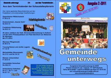 Michelstädter Bienenmarkt 2012 - Evangelische ...