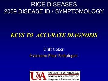 Rice Diseases 1 - University of Arkansas at Monticello