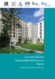 Fifth Concrete Industry Sustainability Performance Report ...
