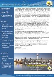 Newsletter Issue 02 August 2013 - absanz