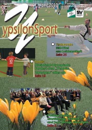 April 2010 - SV Bayer Wuppertal