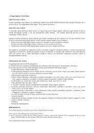 Lingua Inglese (Corso Base) - Servizio linguistico (SeLdA)