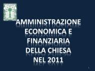 amministrazione e patrimonio immobiliare - Chiesa Evangelica ...