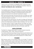 Model G & Model B User Guide - Fishman - Page 2