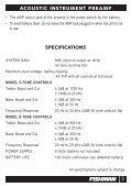Model G & Model B User Guide - Fishman - Page 3