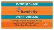 EVENT SPONSOR EVENT PARTNERS - San Diego