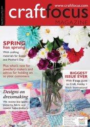 PDF: High-resolution (37Mb) - Craft Focus Magazine