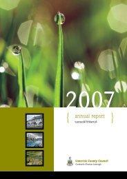 Annual Report 2007 English Version ( pdf file - 5664 kb in size)