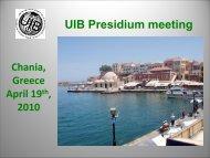 UIB Board meeting - Uibaker.org
