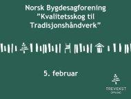 Trevekst Oppland - Norsk Bygdesagforening