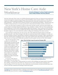 New York's Home Care Aide Workforce - PHI