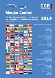 Merger Control - ELIG Attorneys at Law