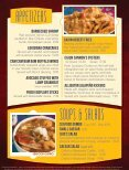 Cajun Cannon Dinner Menu - Page 4
