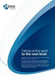 Taking online sport to the next level - SPONSORs Sports Media ...