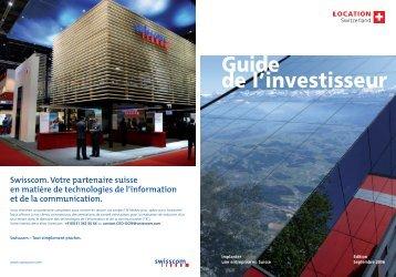 Guide de l'investisseur - scs-online