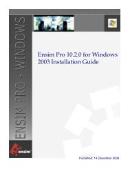 Ensim Pro 10.2.0 for Windows 2003 Installation Guide - Index of