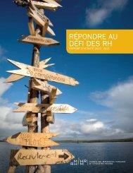 Rapport de rendement 2010-2011 - MiHR