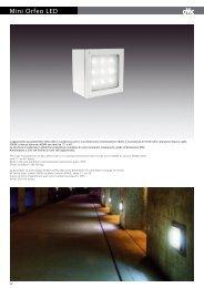 Mini Orfeo LED - Laser Lighting