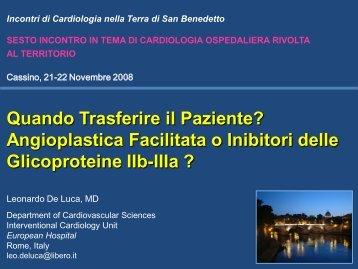 Abciximab Facilitated PCI - Anmco