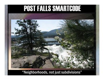 SmartCode Powerpoint Presentation - City of Post Falls