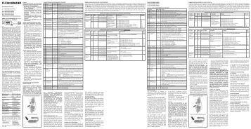 BETRIEBSANLEITUNG GB Operating instructions F ... - Fleischmann