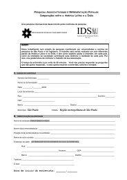 Pesquisa Rep. - Institute of Development Studies