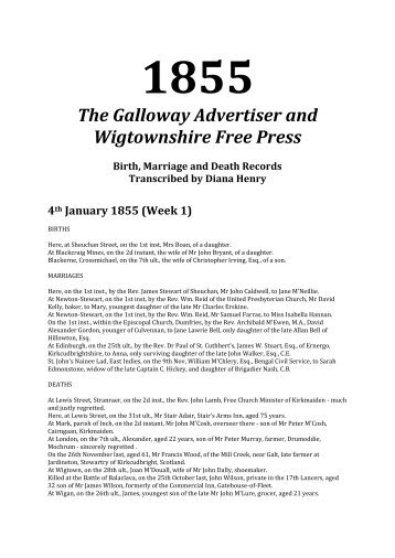 1855 - Robert Wells' Web Pages