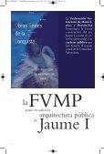 La FVMP pone en valor la arquitectura pública de Jaume I - Page 2