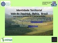 Dinâmicas Rurais Territoriais no Vale de Jiquiriçá, Bahia ... - Rimisp