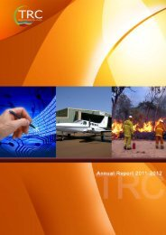 front cover annual report 2011-2012 - Tablelands Regional Council