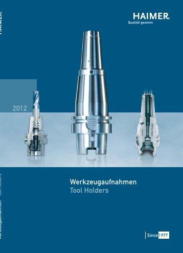 Werkzeugaufnahmen Tool Holders 2012 - STOCKFER
