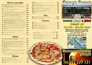 Tel:353 229 721 - Ristorante Pizzeria Venezia