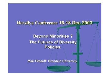 Beyond minorities?