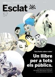 57 Un llibre per a tots els públics. - Associació Esclat