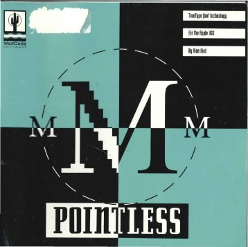 Pointless - Brutal Deluxe Software