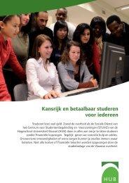 Kansrijk en betaalbaar studeren - Hogeschool-Universiteit Brussel