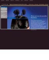 Télécharger la partie Innovation (PDF) - Rapport de Développement ...