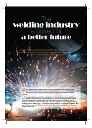 The Welding Industry is poised... - Industrial Products