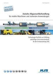 Autarke Abgasnachbehandlung - Weihe GmbH