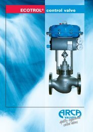 ECOTROL® control valve - Intech2000