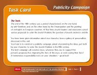 Publicity Campaign - Israventure