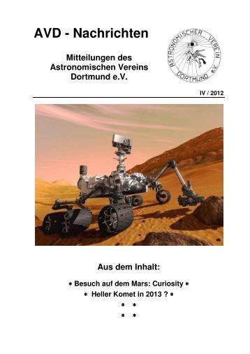 AVD-Nachrichten 201204 - Astronomischer Verein Dortmund eV