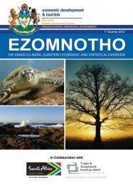 ezomnotho - Department of Economic Development and Tourism