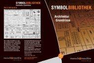SYMBOLBIBLIOTHEK Architektur Grundrisse