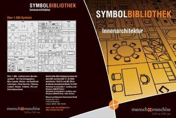 SYMBOLBIBLIOTHEK Innenarchitektur
