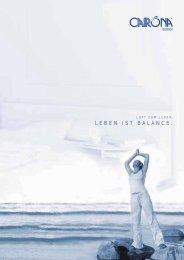 LEBEN IST BALANCE.