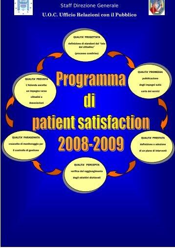 il 2° report sui Day Hospital - Azienda Ospedaliera S.Camillo-Forlanini